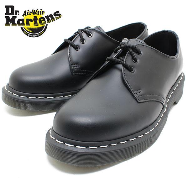 Dr.Martens ドクターマーチン 1461 MONO 3EYE SHOE 24757001 WHITE WELT 3ホール 短靴/ホワイトステッチ/レディース/メンズ/定番