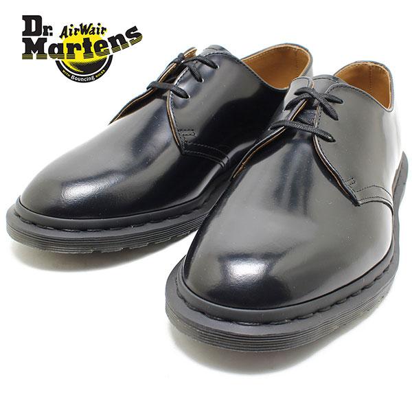 Dr.Martens ドクターマーチン ARCHIE OXFORD SHOE 25009001 BLACK 3ホール シューズ 短靴/ビジネス/メンズ/レディース