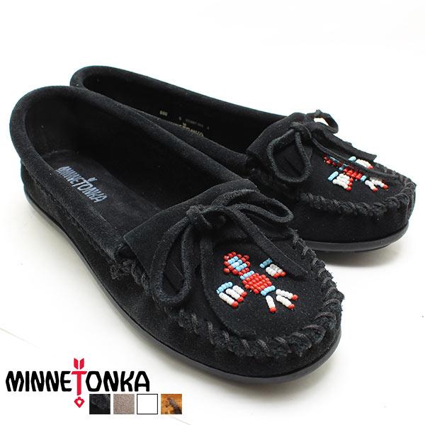 Minnetonka/ミネトンカ 正規品 モカシン THUNDERBIRD2 BLACK 600 Minnetonka/ミネトンカ 正規品/レディース/正規品/シリアル