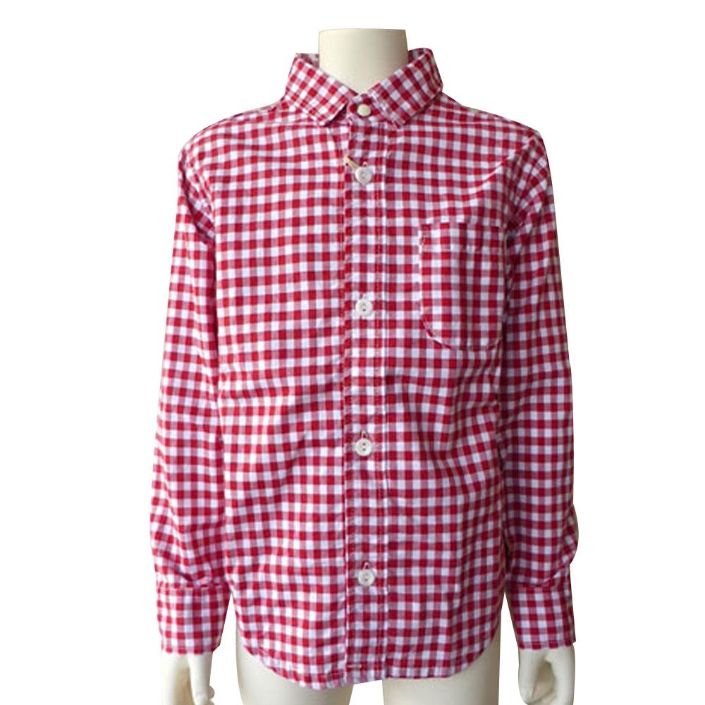 FABRIQ REPORT(ファブリックレポート)ギンガムチェック シャツ (140-150) おしゃれ キッズ 男の子 女の子 かわいい 子供服 入学式 フォーマル 日本製