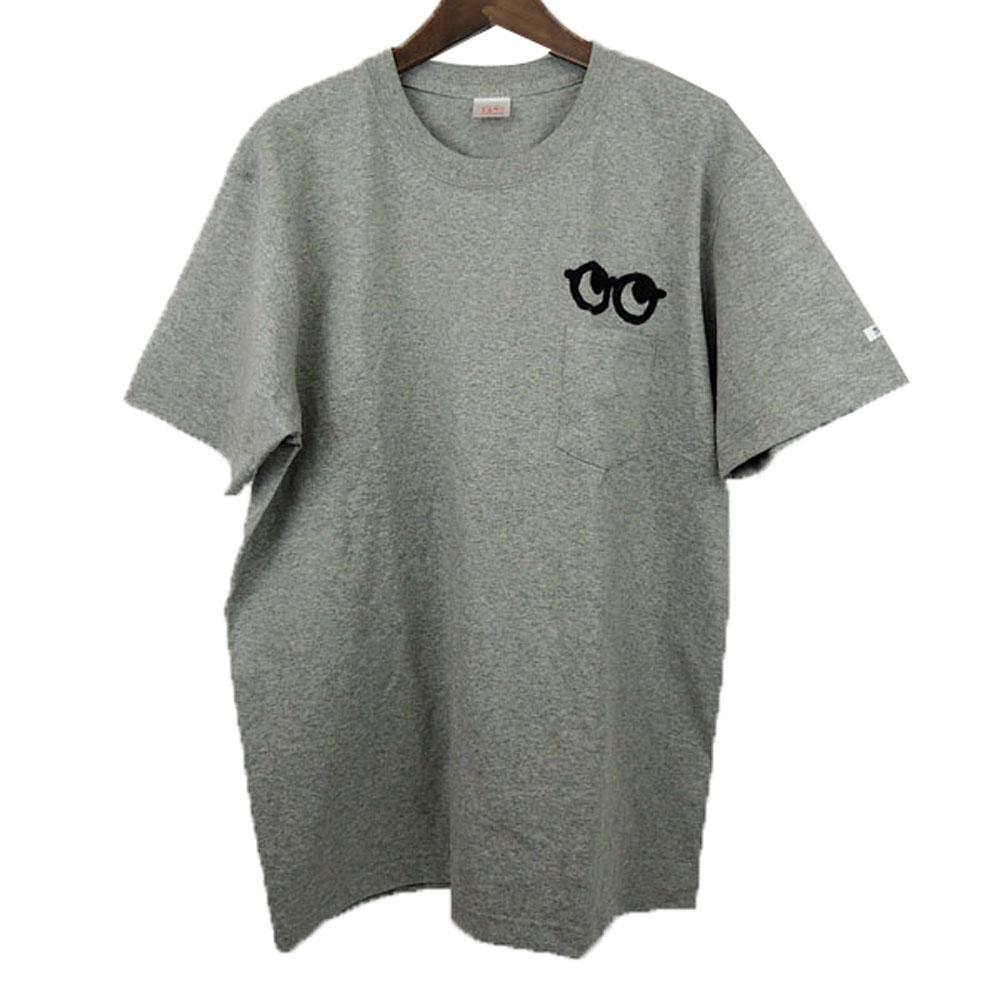 MOMENT モーメント 授与 LOOK 卓越 GLASSES ヘビーウェイト ポケットTシャツ S-XL めがね レディース かわいい メンズ 子供服 おしゃれ 半袖Tシャツ お揃い