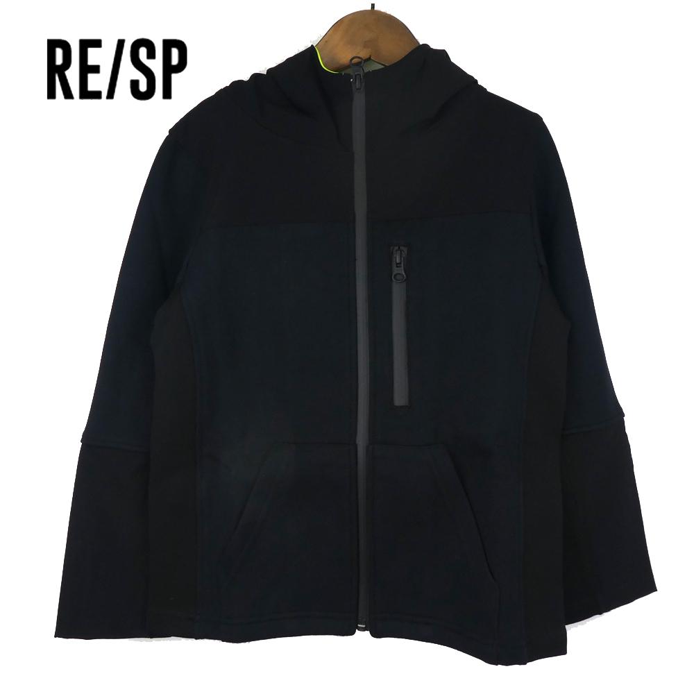 RE/SP TECジップフーデットパーカー (130-160) 子供服 おしゃれ 男の子 女の子 ジュニア