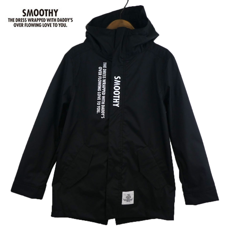 SMOOTHY (スムージー) モッズレインコート (110-150) 子供服 おしゃれ 男の子 女の子 ジュニア