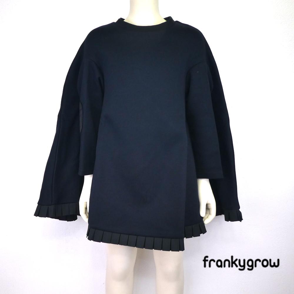 FRANKY GROW ( フランキーグロウ) DOUBLE KNIT PONCHO DRESS(130-140) ワンピース 子供服 女の子 おしゃれ