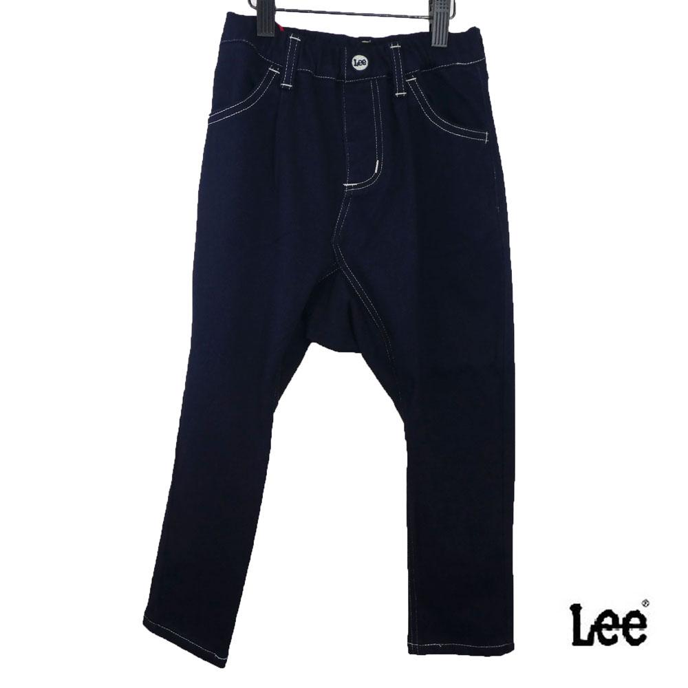 Lee(リー)ルーズ サルエルクロップドパンツ (90-130) 総ゴム おしゃれ キッズ 男の子 女の子 かわいい 子供服