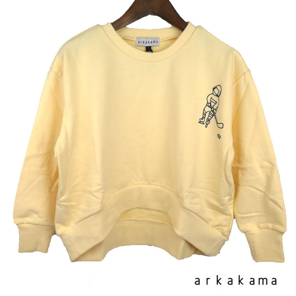 arkakama (アルカカマ)1964 ROUND Sweatshirt (XL-XXL) スウェット 長袖 子供服 男の子 女の子 おしゃれ