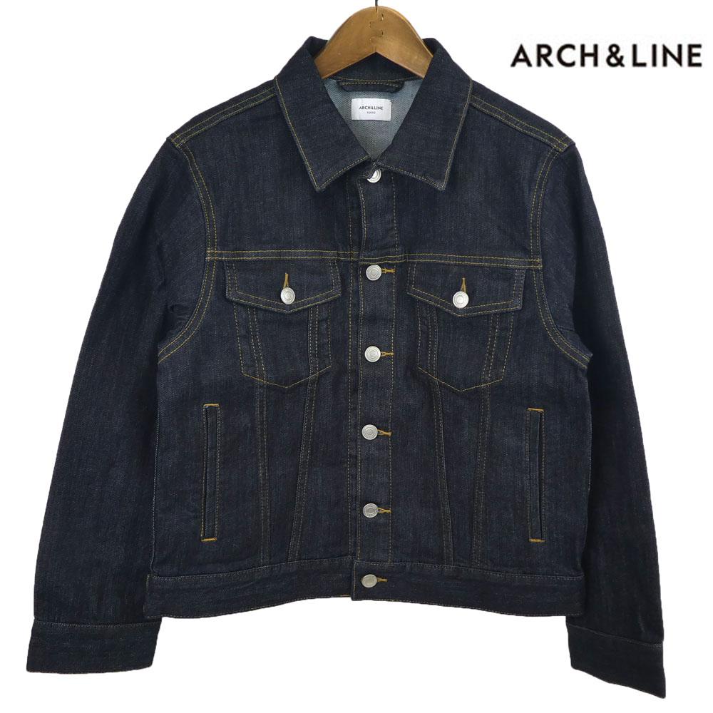 ARCH&LINE(アーチ&ライン)3RD DENIM JACKET デニムジャケット (LADY'S) Gジャン レディース