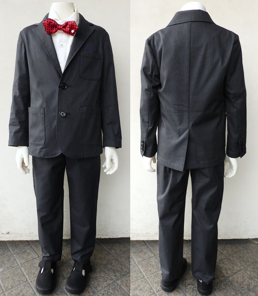 ARCH&LINE(アーチ&ライン)COOLMAX STRETCH JACKET,PANTS(110-130) 【送料無料】入学 卒業式 子供服 男の子 テーラードジャケット フォーマルスーツ 男の子