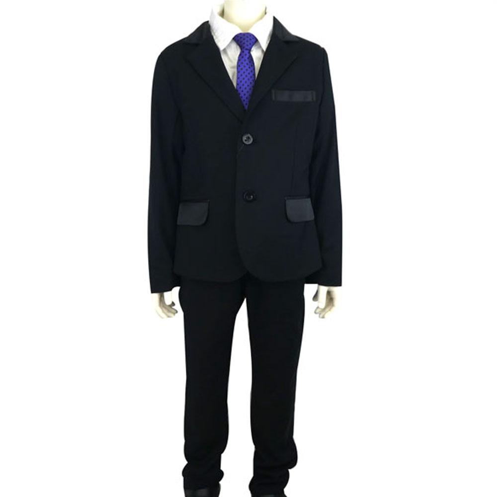 RAD CUSTOM (ラッドカスタム)サテン切り替えジャケット&パンツ (120-150) スーツ 入学式 卒業式 子供服 男の子 おしゃれ