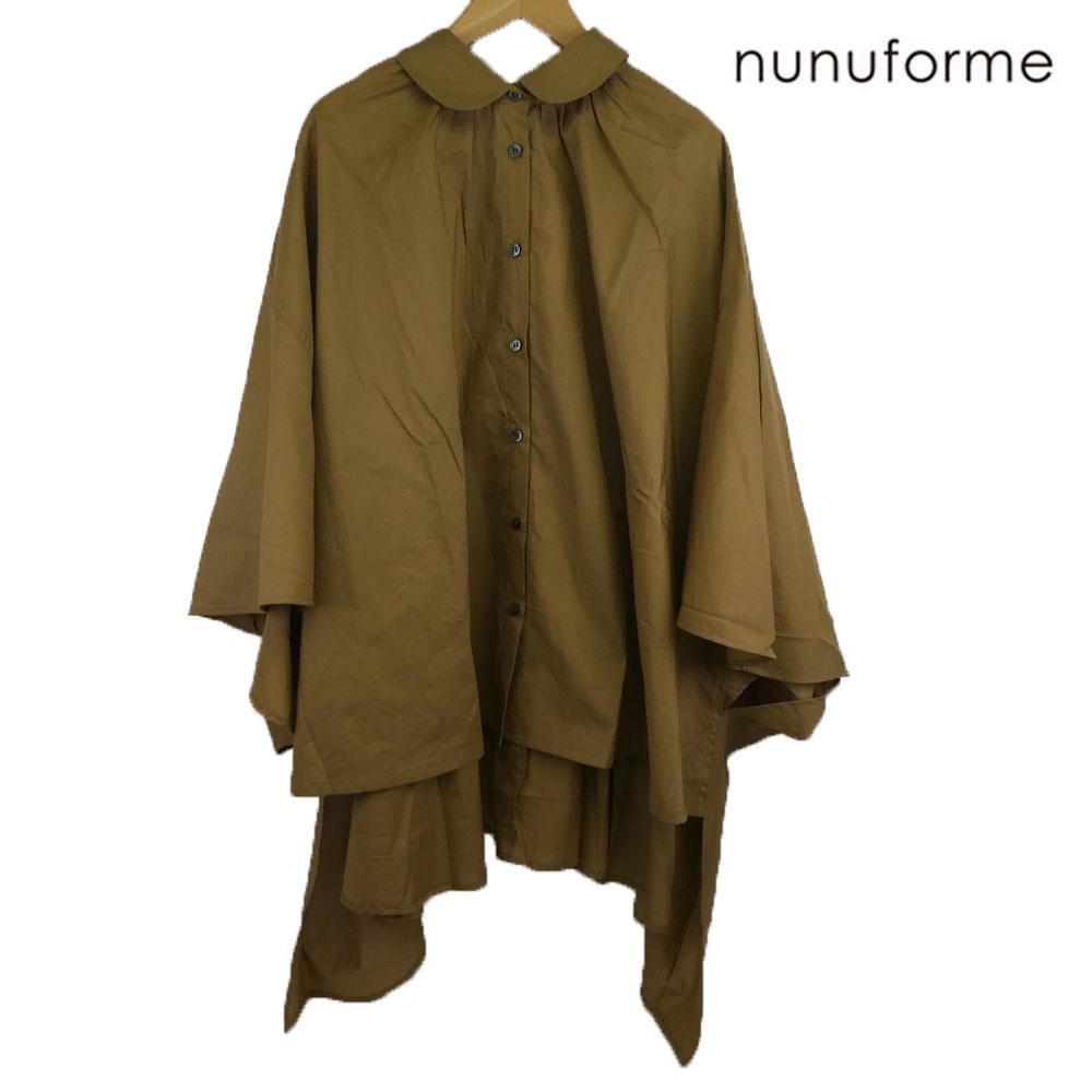 nunuforme (ヌヌ) マントブラウス レディース おしゃれ