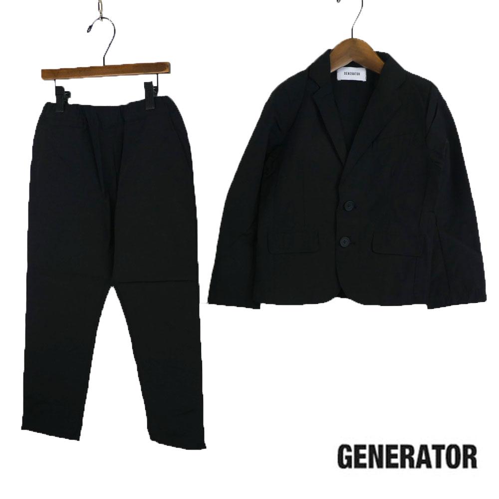 GENERATOR (ジェネレーター) C/N スーツ(120-150)スーツ収納ポケット&ジャケット&パンツ3点セット 入学式 卒業式 子供服 男の子 おしゃれ