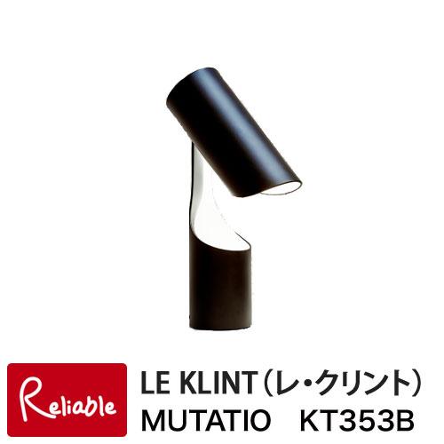 ※1月下旬~2月上旬入荷予定※ レクリント MUTATIO ムタチオ テーブルライト ブラック KT353Bライト 照明 レ・クリント LE KLINT 卓上 北欧 正規品【Y/S79】