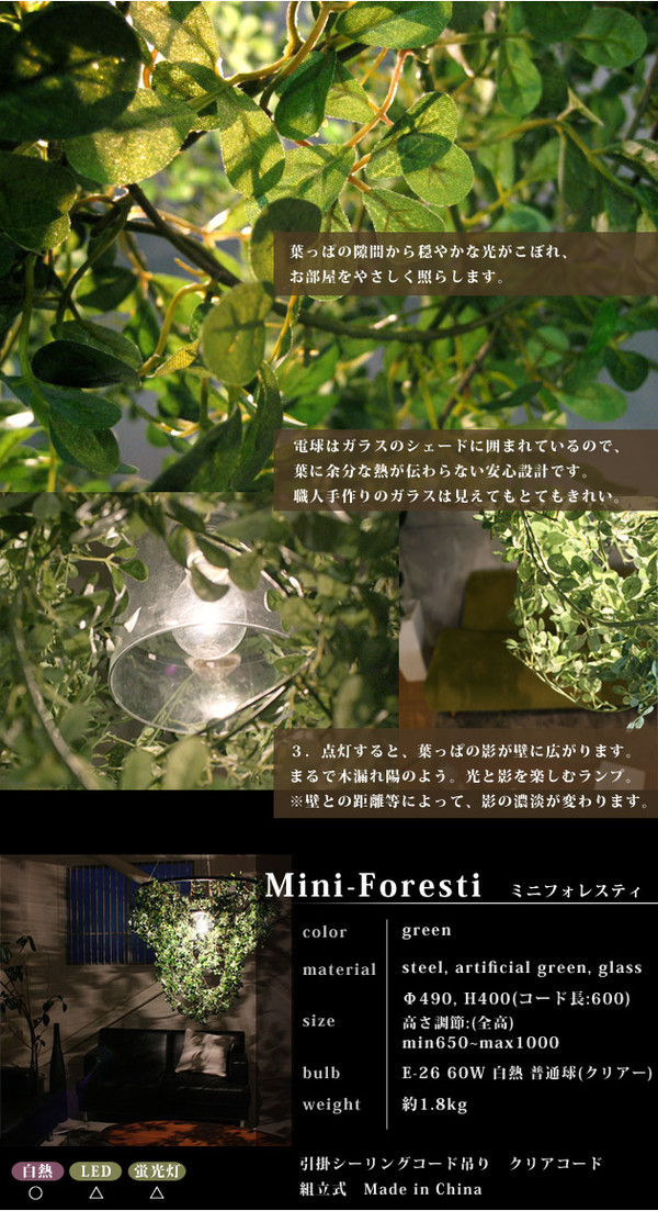 reliable | Rakuten Global Market: Mini forest declasse Mini Foresti ...