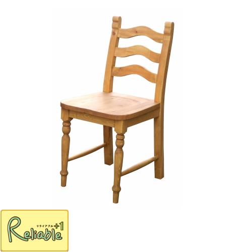 チェア 椅子 A008 家族 ダイニング アイロスジャパン パイン材 ナチュラル 無垢パイン アンティーク カントリー インテリア アメ色 長く使える 塗装 Airos Japan 可愛い