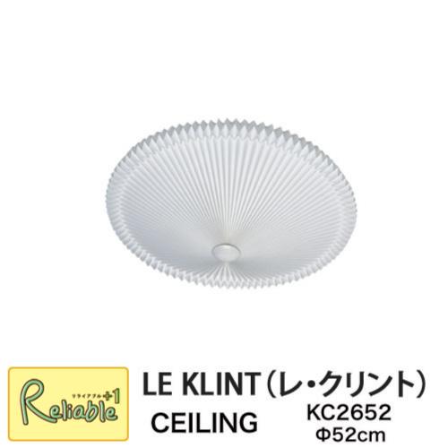 レクリント シーリングライト KC2652 MODEL26 直径52cm LIGHT ライト 照明 レ・クリント LE KLINT ハンドクラフト 天井 CEILING 北欧 正規品【S/68 2-83】