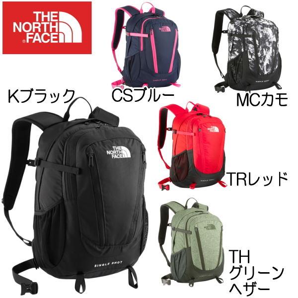 ザ・ノースフェイス シングルショット デイパック THE NORTH FACE Single Shot NM71603【PJPJ-24lpc】 【Kブラック 黒は11月28日入荷発送】