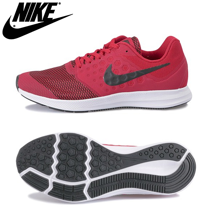 cdd866d04078d Nike downshifter 7GS of the minimal design strengthens the thin mesh layer  in an overlay without the seam. The mid sole of the three-dimensional  sewing ...