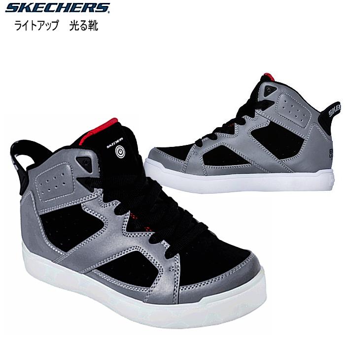 スケッチャーズ キッズ スニーカー 光る靴 SKECHERS S LIGHTS- E-PRO 90612L