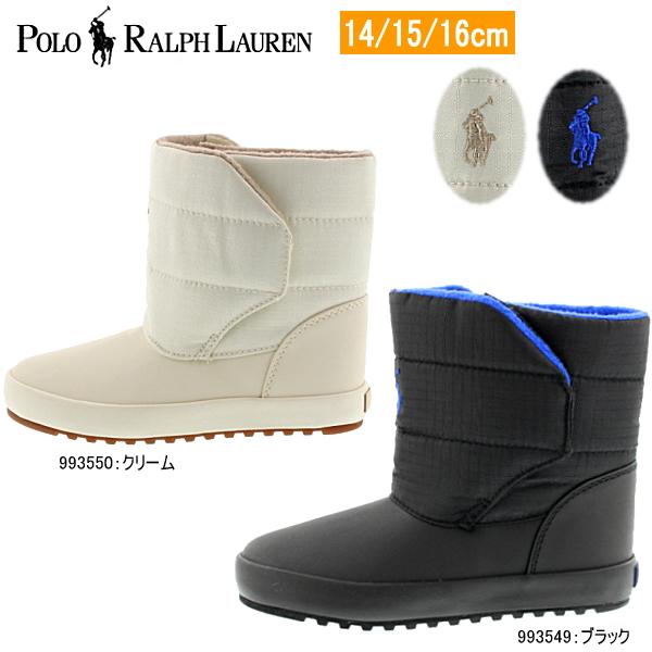ポロ・ラルフローレン キッズ ブーツ POLO RALPH LAUREN [ 993549/993550 ] 黒