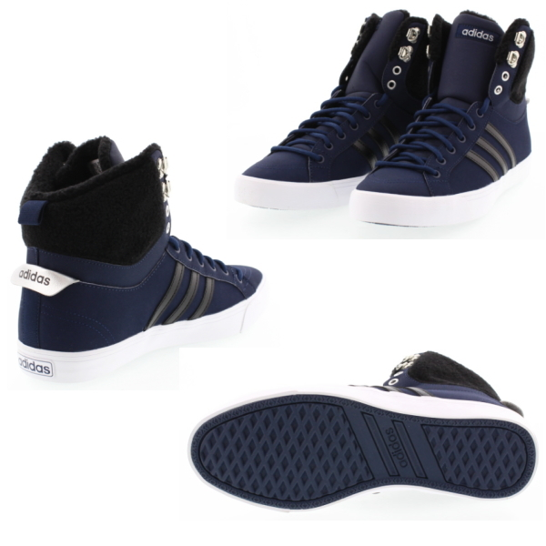 new concept ed658 a669d get adidas neoparkwinter high adidas neo park wtr hi w aw4925 navy black  silver boa womens