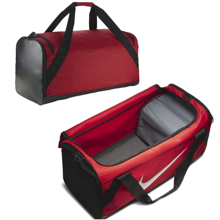 Nike Brasilia duffel XL adopts the outstandingly durable material which was  designed to carry necessities of the training. I arrange the pocket which I  can ... 8560aac676
