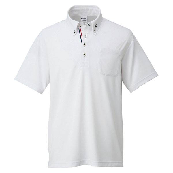 コンバース ボタンダウンシャツ メンズ レディース ホワイト con-cb231402-1100 CONVERSE