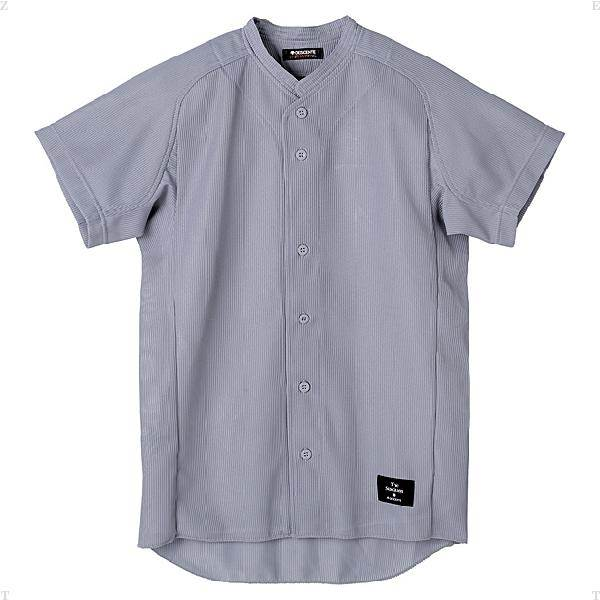 デサント(DESCENTE)学生試合用ユニフォーム立衿ボタンダウンシャツ(ds-std51ta-kslv)