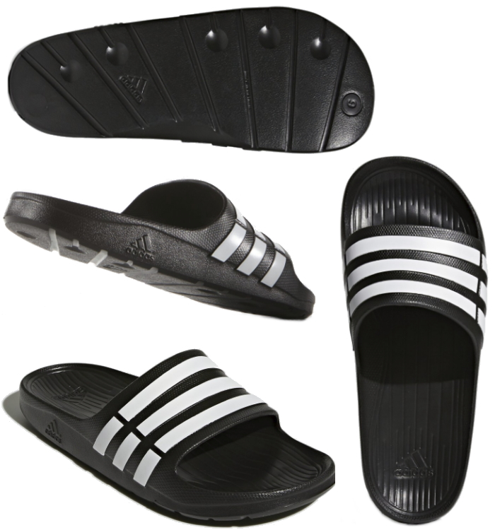 Adidas duramo SLD mens Womens shower Sandals adidas DURAMO SLD Sandals  Beach pool for women- 896a501f6