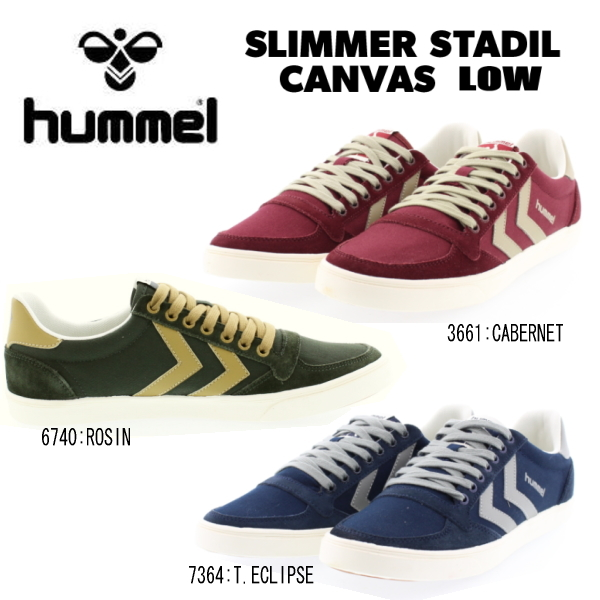 8eb15150176f Classic low cut models became familiar with Hummel caraflcamba  studies  canvas  16 FW season color adopted by autumn and winter colors.