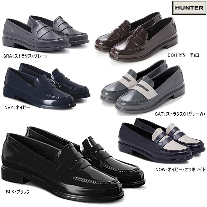 ハンター HUNTER レインシューズ 靴 ペニーローファー オリジナル HUNTER ORIGINAL