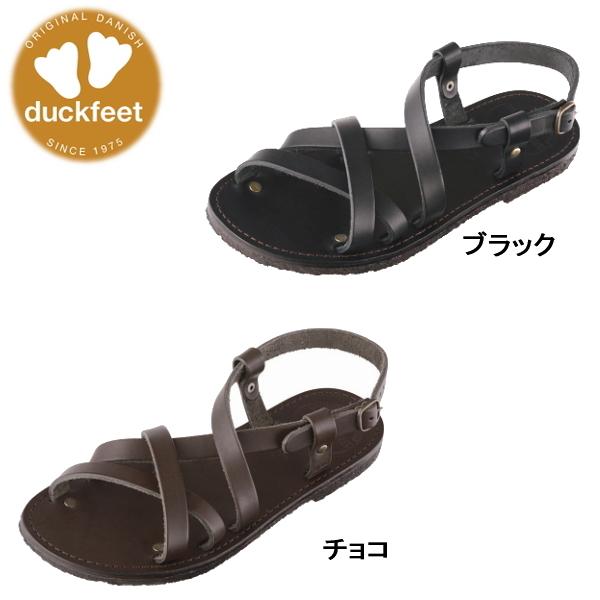 ダンスク ダックフィート DANSKE duckfeet DANSKE duckfeet 0150 ダンスク ダックフィート レザーサンダル duckfeet クレープソール・メンズ ストラップ本革 サンダル