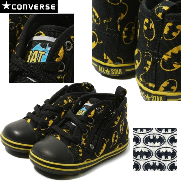 86bf0277e276 Converse all-star Batman baby kids shoes CONVERSE BABY ALL STAR BM RZ baby  or star DC Comics collaboration sneaker baby shoes children shoes boys boys  girls ...