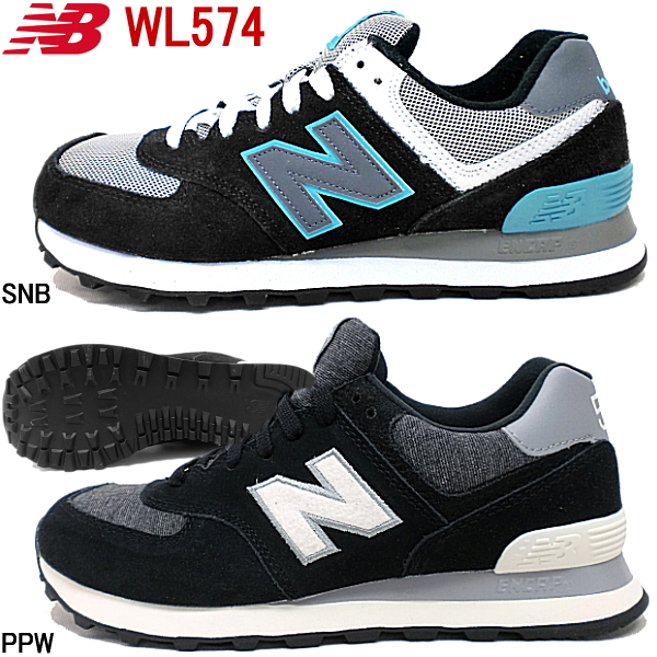 New balance 574 New Balance WL574 SNBPPW shoes women's Shoes Sneakers new balance genuine classic CLASSICS TRADITIONNELS