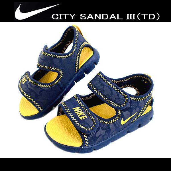 4b1d967bea71b ... coupon nike city sandal iii td 443373 400 baby kids children bd63b e3208