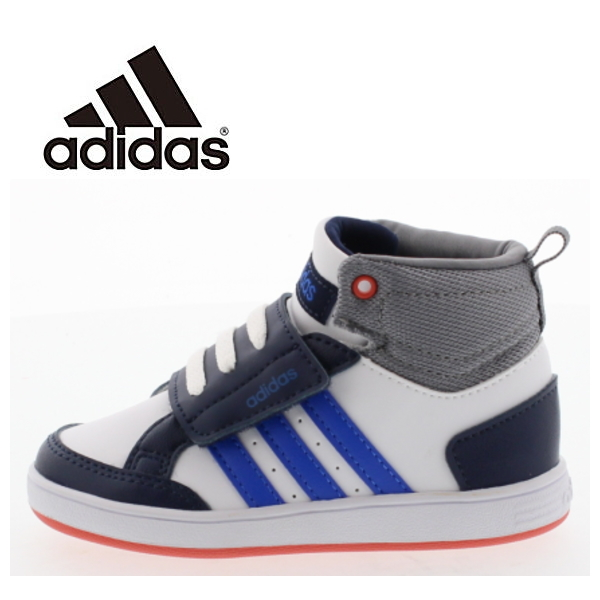 reputable site eee10 62062 -Adidas adidas baby kids NEOHOOPS CMF sneaker MID INF AW5126 (neo hoops CMF  MID INF) boy girl kid shoes mid cut Velcro
