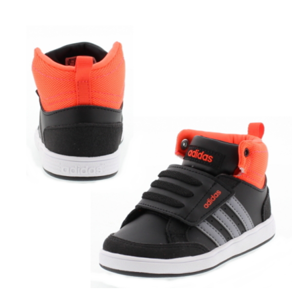 883d4cfd -Adidas adidas baby kids NEOHOOPS CMF sneaker MID INF w5129 (neo hoops CMF  MID INF) boy girl kid shoes mid cut Velcro