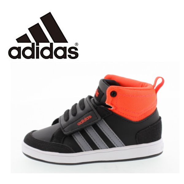 Adidas baby kids sneakers adidas neo Label VALCLEAN2 CMF INF child shoes baby shoes 12.0 16.5cm bulk Lean 2 coat style vero black white black sports