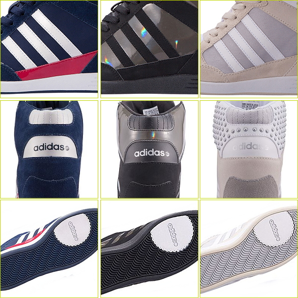 Adidas in her sneakers Womens high cut adidas WENEO SUPER WEDGE shoes Womens Shoes Sneakers adidas