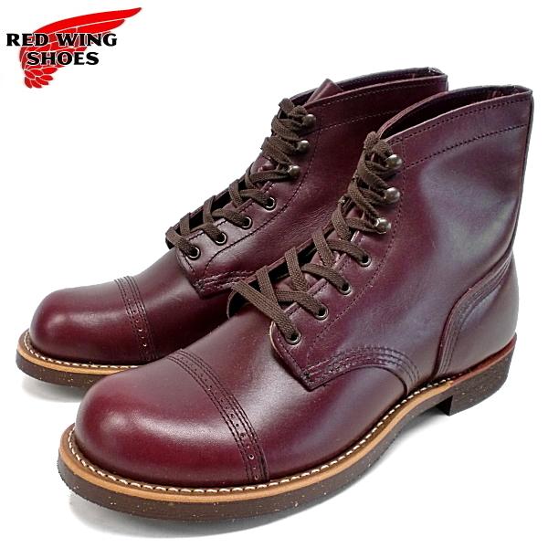レッドウィング アイアンレンジ 8012 メンズ ブーツ マンソンブーツ RED WING セール シューケアセット3点付