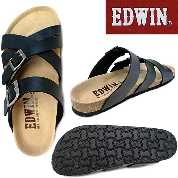 [EW9166] 埃德温 · 凉鞋男装 EDWIN 埃德温 · 男士凉鞋休闲凉鞋舒适凉鞋吊带埃德温 · 凉鞋男人-