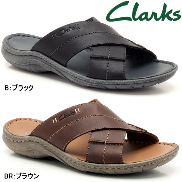 Clarks men's sandal wood Lake cross Clarks Woodlake Cross 085E casual shoes sandal-
