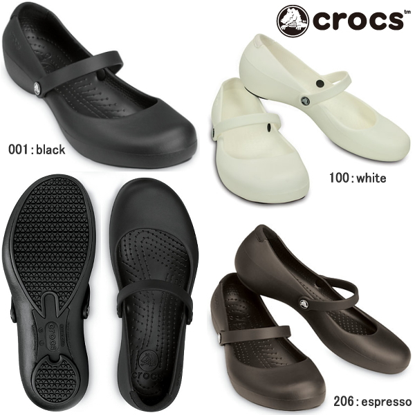 723581cb2bb9c ... Crocs women's Alice work crocs alice work 11050 lightweight Janes  painless pettanko pettanko comfortable low heel ...