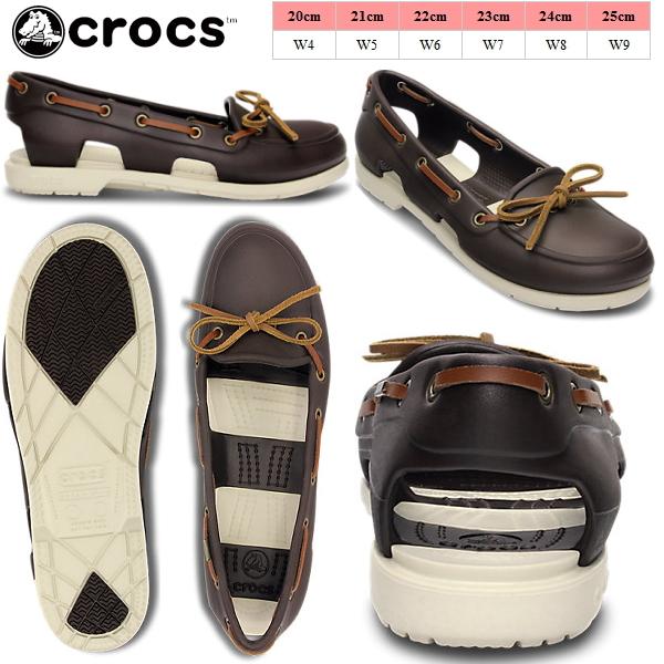 妇女 crocs 凉鞋海滩线船鞋女式鳄鱼海滩线船鞋 w 14261 妇女的轻量级甲板鞋鞋黑色胸部悠嘻猴妇女的凉鞋-[fs3gm]