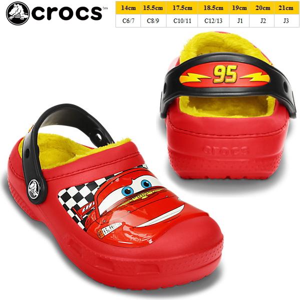 9418b59fe Crocs kids   baby Cars2 clock band crocs creative crocs McQueen lined clog  15260 creative Crocs McQueen Linda yogui cars 2 Disney Pixar sandal clog  kids ...