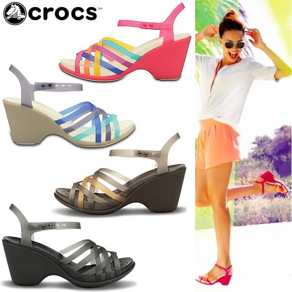 c21e5667c Crocs Womens Wallace Sandals wedge crocs women huarache sandal wedge in 15  392 women s women s wedge Sandals lightweight black I giggle sandal-fs04gm