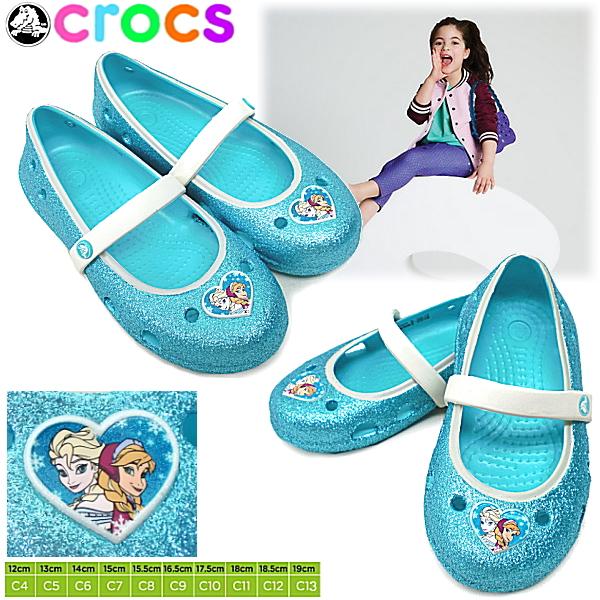 Crocs Crocs kids baby Keeley frozen flat keeley frozen flat 200919-