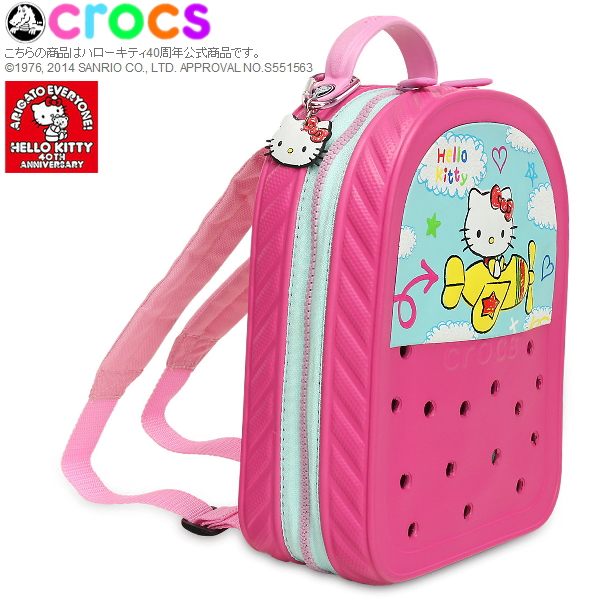 Clocks Clock Band Backpack O Kitty Plains Crocs Crocband 2 0 Planes 35185 Child Bag Sanrio
