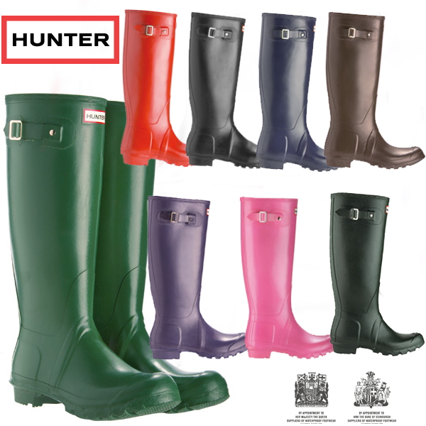 7f55f33a5fec0 Hunter boots long genuine men's women's original tall classic HUNTER  ORIGINAL TALL CLASSIC rubber boots rain boots-