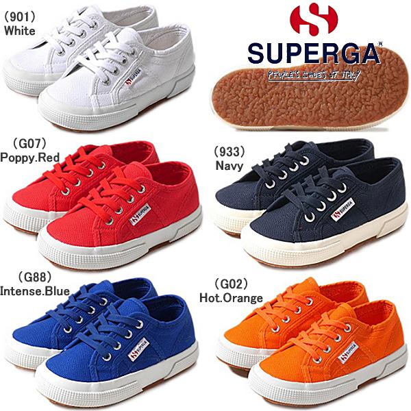 スペルガ スニーカー キッズ SUPERGA 2750 JCOT CLASSIC [S0003C0] クラシック コットン キャンバス 靴 キッズ シューズ 16~20cm