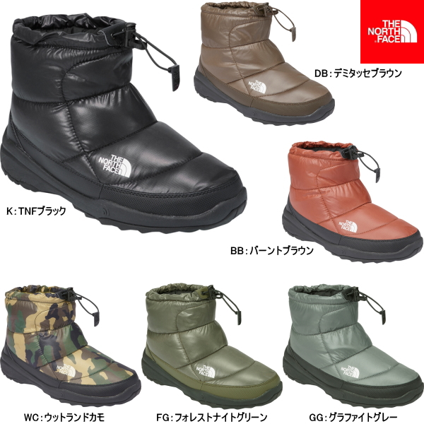 89a425321 The north face down men's boots nubs THE NORTH FACE Nuptse Bootie V Short  NF51484 the-north face Bootie 5 boots snow-the north face nupsibuti